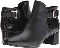 Black Leather/Snake