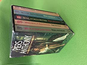 Piers Anthony 5-Book Boxed Set, Paperback, Incarnations Of Immortality series, On A Pale Horse / Bearing An Hourglass / With A Tangled Skein / Wielding A Red Sword / Being A Green Mother