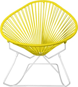 Innit Designs 15-02-03 Junior Acapulco Rocker, Yellow On White