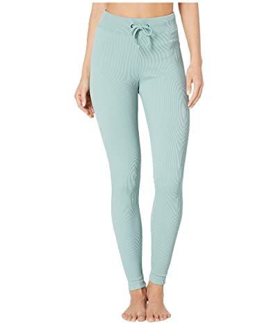 Koral Duke High-Rise Groove Leggings (Aquamarine) Women