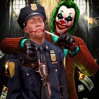 Sins Of Psychopath Clown Bank Heist : Sociopath Joker Gangster Halloween Night