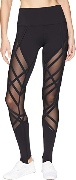ALO High-Waist Wrapped Stirrup Leggings