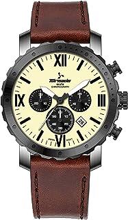 TORNADO Men's Chronograph Ivory Dial Watch - 40923