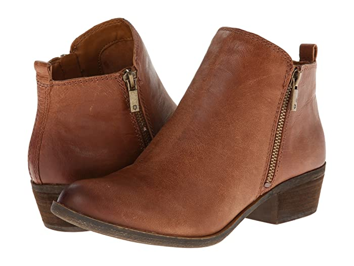 Lucky Brand  Basel (Toffee) Womens Zip Boots