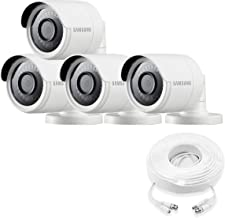 Samsung Wisenet SDC-89440BB-4PK - 4MP Weatherproof Bullet Camera (4-Pack) Compatible with SDH-C85100BF