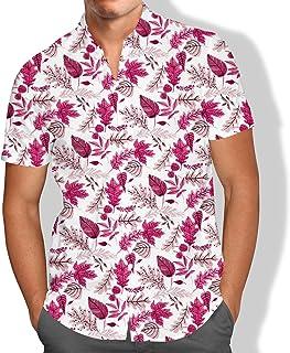Camisa Praia Flores Moda Tumblr Masculino Summer