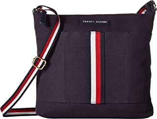 Womens Flag Corporate Canvas North/South Crossbody
