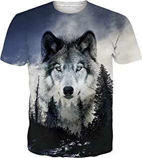Spreadhoodie Unisex Camisetas 3D Patrón Impreso Camisetas Cuello Redondo Gracioso Verano Casual Manga Corta T-Shirt tee S-XXL