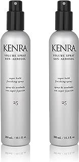 Kenra Non-Aerosol Volume Spray #25, 35% VOC, 10-Ounce (2-Pack)