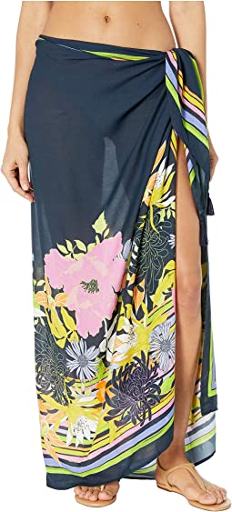 Bal Harbour Floral Pareo Cover-Up