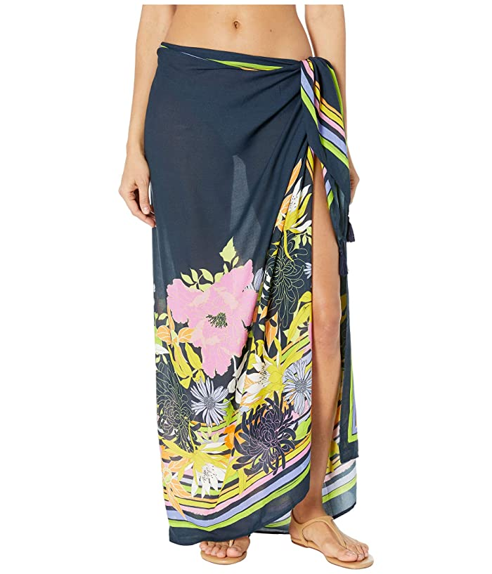 Trina Turk Bal Harbour Floral Pareo Cover-Up (Multi) Women