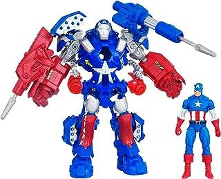 Marvel The Avengers Stark Tech Assault Armor Captain America Figure
