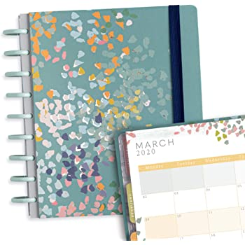 Boxclever Press Busy Days 2020 diary. High quality weekly planner. Stunning design with pages for hopes & dreams, projects & plans, monthly & weekly plans. Creative diary for January'20 - December'20.