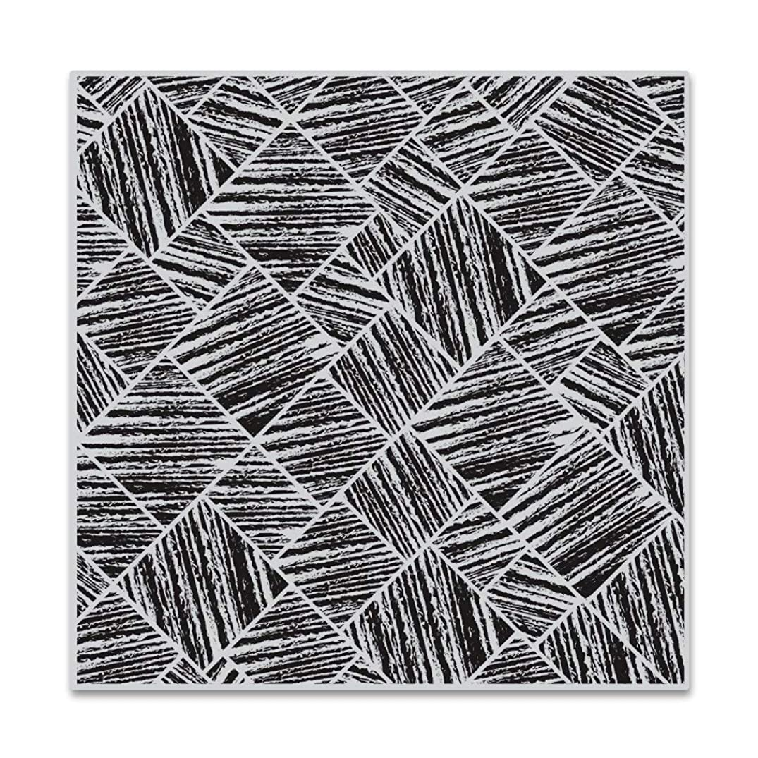Hero Arts CG748 Bold Prints, Distressed Tile, 6