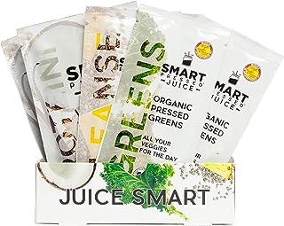 Smart Pressed Juice 1-Day Organic Juice Cleanse   Healthy Weight Loss & Detox Program   Vegan Vanilla Protein, Green Juice, Beets Juice & Pineapple Chia Cleanse   High Fiber & Vegan