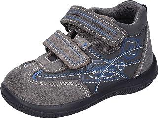 Schwarz Primigi Sneaker High Pme 64533 Gelb Nubuk Normal Kinder