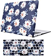 TeenGrow MacBook Air 13 Inch Case(A1369 & A1466, Older Version 2010-2017 Release), Plastic Hard Protective Laptop Case Shell with Keyboard Cover Only Compatible MacBook Air 13 Inch, Daisy Floral