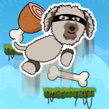 Happy Dog Jump - Golden Doodle Climp