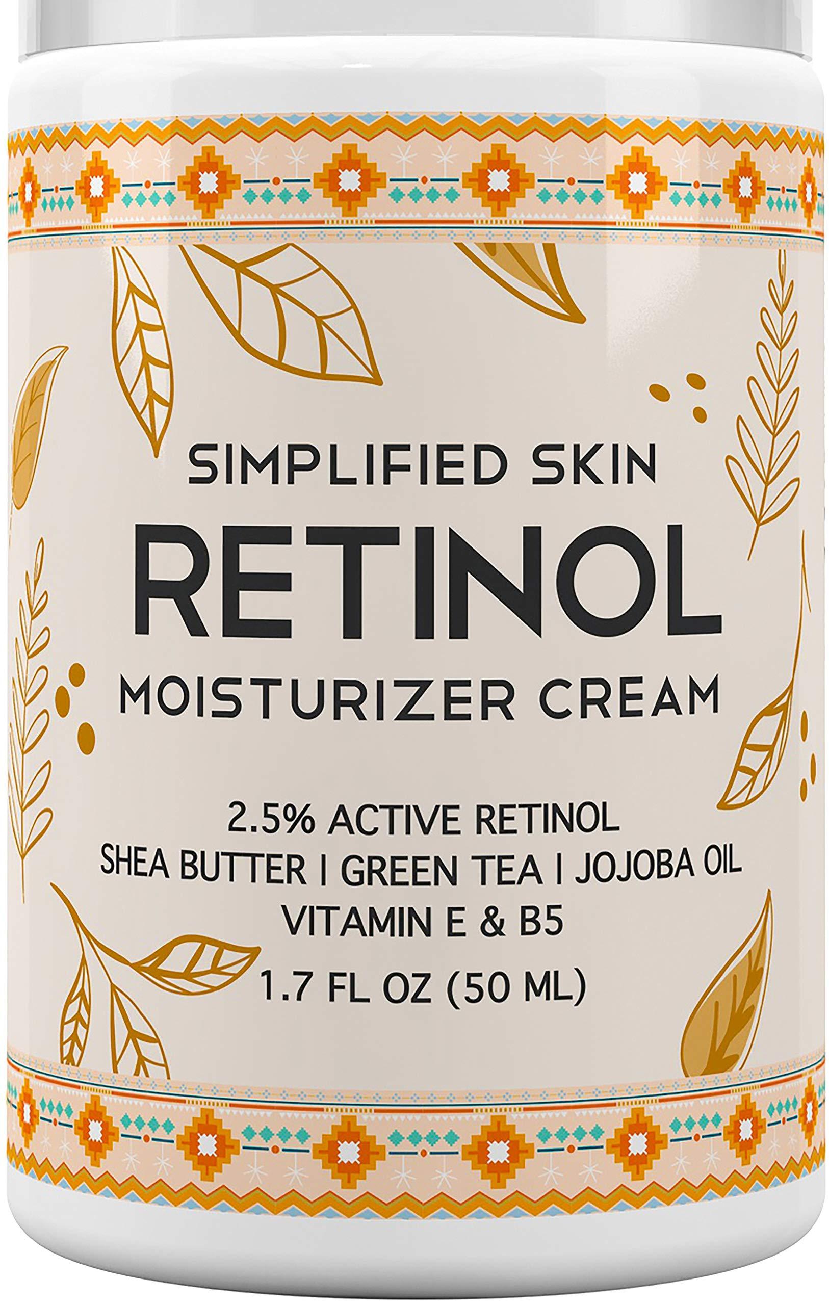 Retinol Moisturizer Vitamin Hyaluronic Wrinkles