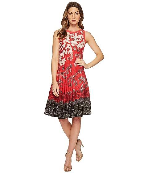 Nic+zoe Dresses Terrace Twirl Dress, MULTI