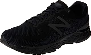 New Balance Fresh Foam Men's Running Shoes, Black with White