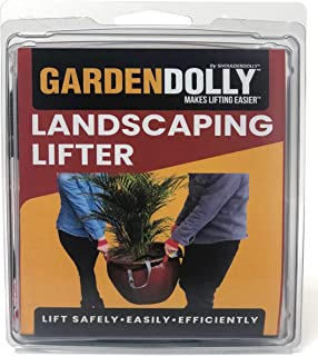 Shoulder Dolly GardenDolly- Landscaping Lifting Straps, Move Heavy Garden Objects-Flower Pots, Planters, Rocks, Secure Lift up to 800 lbs.