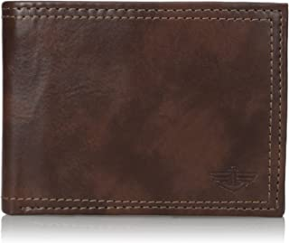 Dockers 2019 Mens Rfid Blocking Extra Capacity Leather Bifold Wallet, 12 cm