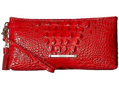 Brahmin Melbourne Kayla Bag (Candy Apple) Handbags