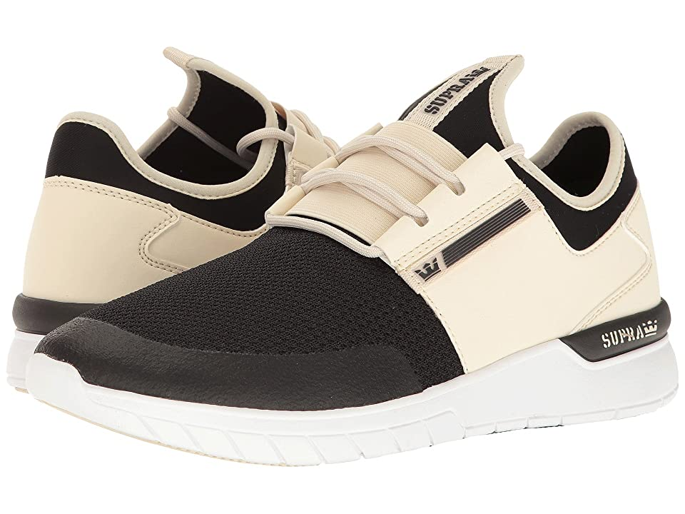 Supra Flow Run (Cream/Black/White) Men