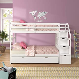 Best loft bed stairs with drawers Reviews
