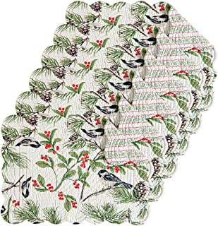 christmas quilt placemats