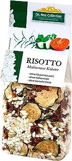 Dr. Ana Collection - Risotto Reis mit Mediterranen Kräutern 200g 5 Beutel - auch erhältlich als 1 bis 7 Beutel
