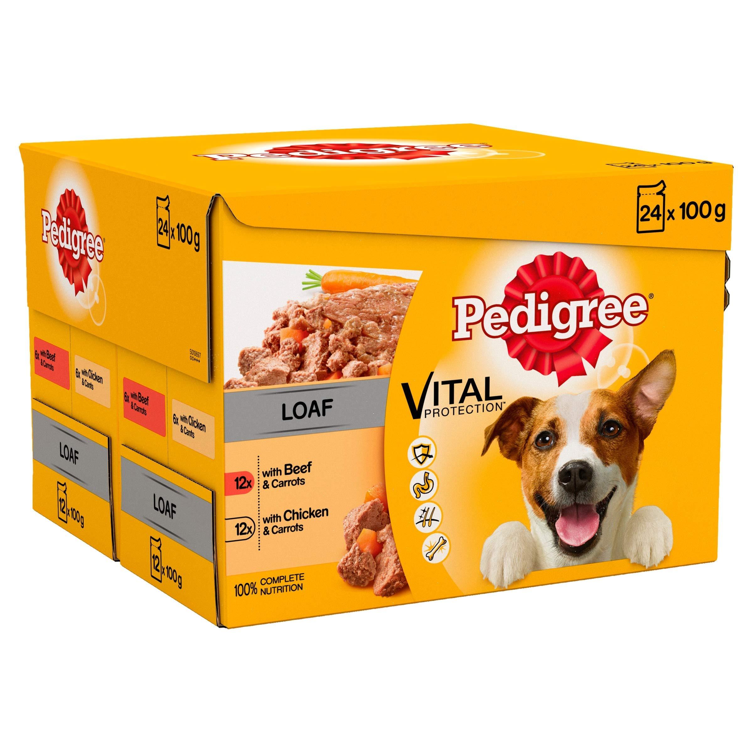 Pedigree Vital Protection – Bolsas de Comida para Perros húmedos: Amazon.es: Productos para mascotas