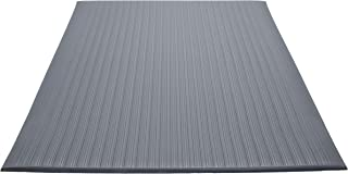 Guardian Air Step Anti-Fatigue Floor Mat, Vinyl, 3'x12', Gray, Reduces fatigue and discomfort, Can be easily cut to fit any space
