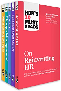 HBR's 10 Must Reads for HR Leaders Collection (5 Books)