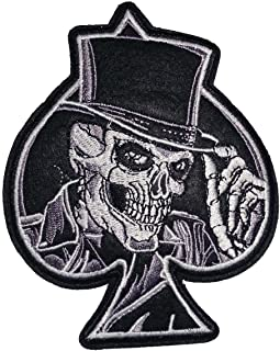 ACE of SPADES with SKULL SKELETON & TOP HAT 4
