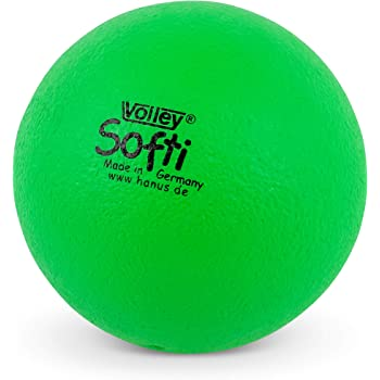 Volley ® SOFTI Pelota de Espuma - 160 mm - Verde: Amazon.es ...