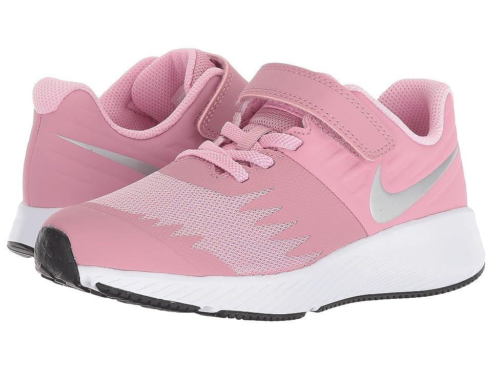 Nike Kids Star Runner (Little Kid) (Elemental Pink/Metallic Silver/Pink) Girls Shoes