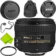 Nikon AF-S NIKKOR 50mm f/1.4G Lens Base Bundle