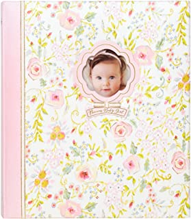 """C.R. Gibson Sweet as Can Be Loose Leaf 3-Ring Memory Book for Newborns and Babies, 10.125"""" x 11.5"""""""