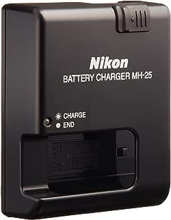 Nikon MH-25 Quick Charger for EN-EL15 Li-ion Battery Compatible with Nikon D7000 and V1 Digital Cameras