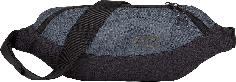 Mesh-Innentasche 2 Wege Zipper wasserabweisend gr/ö/ßenverstellbarer Gurt mit Schnalle 3 Liter Volumen AEVOR Shoulder Bag