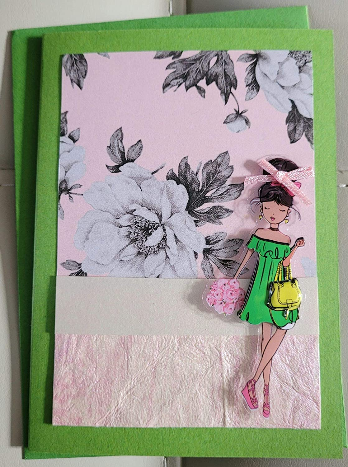 Over item handling Greeting Card - Lizzy GirlzROCK Outlet ☆ Free Shipping