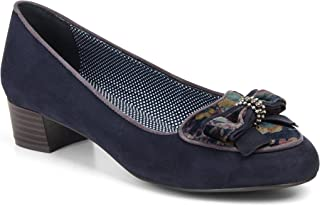 Ruby Shoo Ivy Bow Cour Chaussures Noir