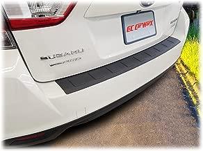 C&C Car Worx Rear Bumper Cover Guard Protection Pad for 2017, 2018, 2019 Subaru Impreza 5-Door Hatchback