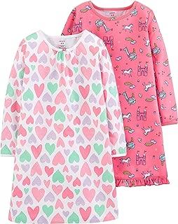 Girls' 2 Pack Sleep Nightgowns
