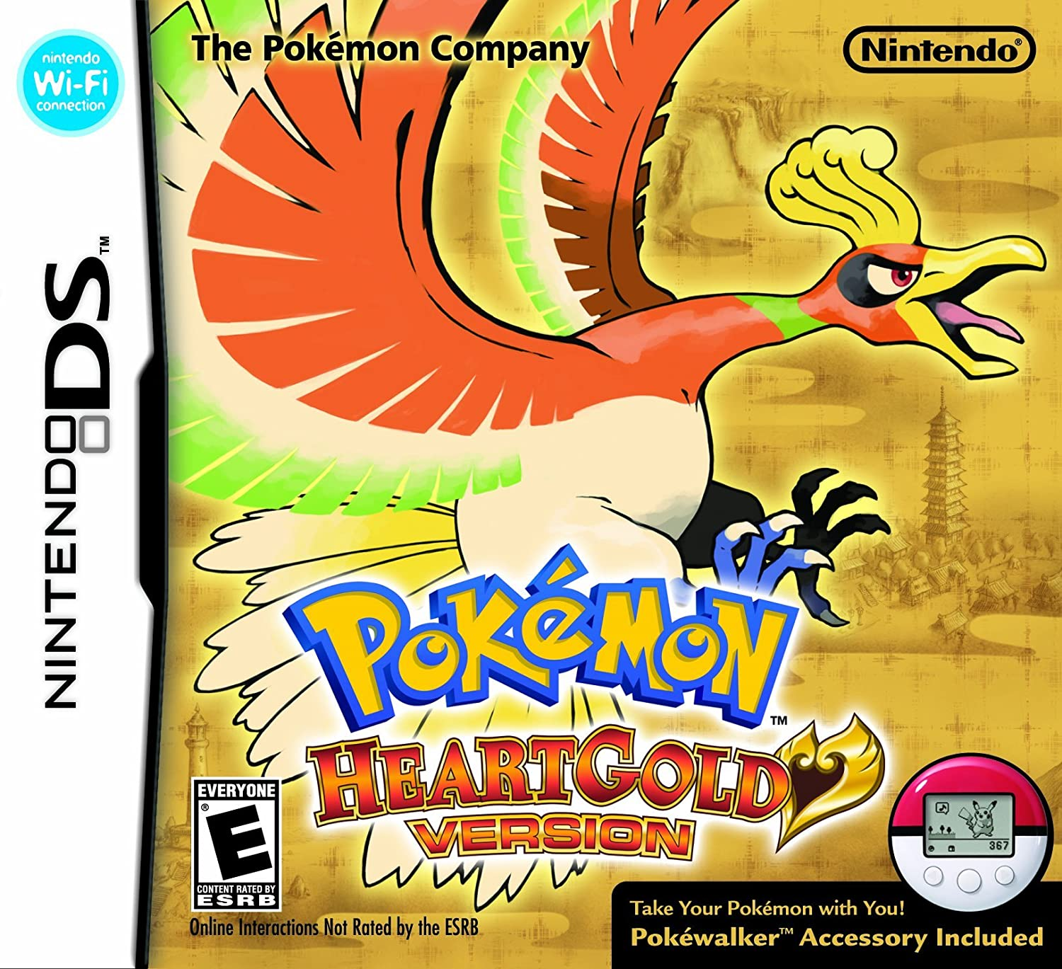 Pokemon HeartGold Version Max 72% Year-end annual account OFF