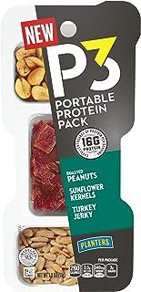 Planters Turkey Jerky, Oil Roasted, Lightly Salted Peanuts, Sunflower Seeds, 21.6 Ounce
