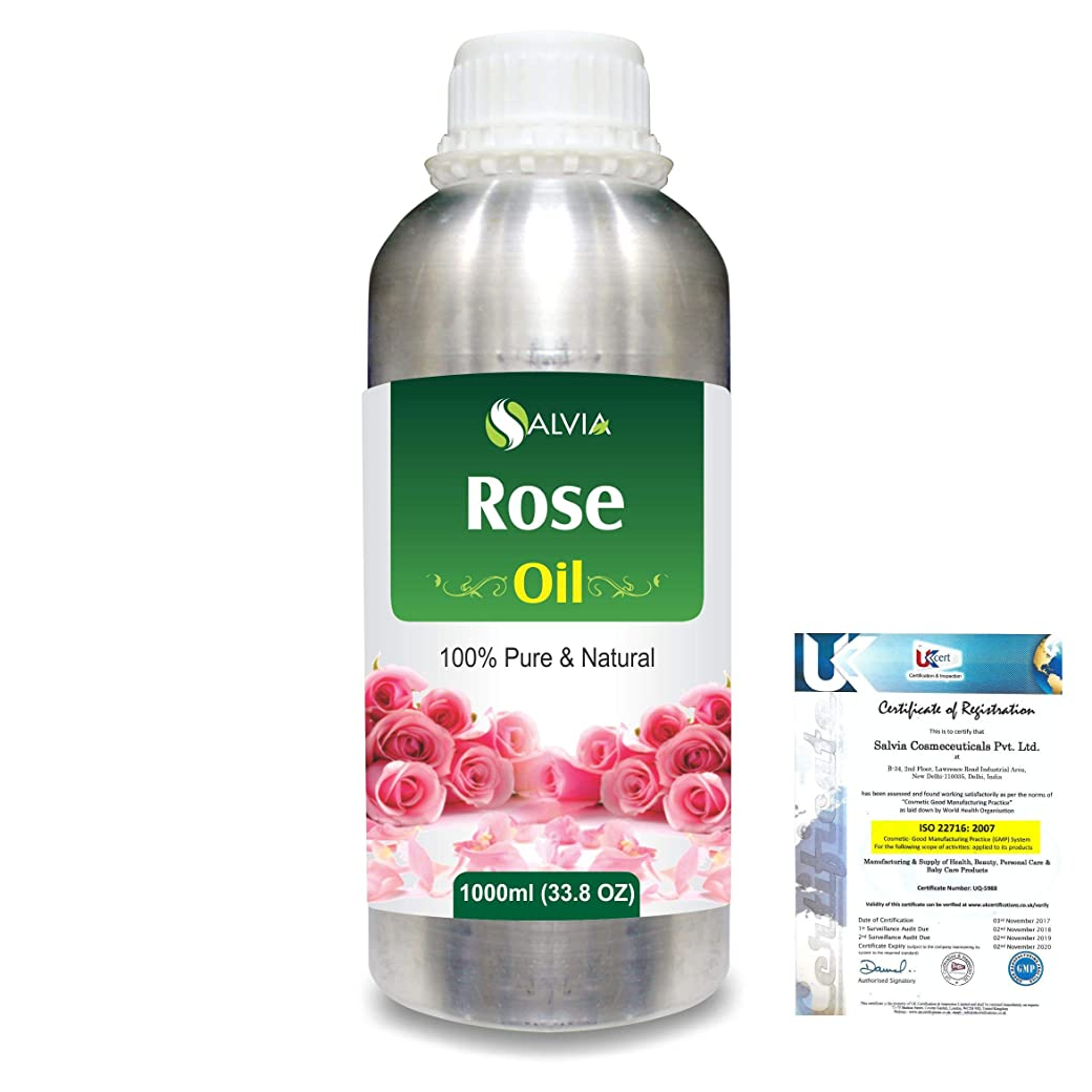 間違えたなぜ気難しいRose (Rosa Damacenia) 100% Natural Pure Essential Oil 1000ml/33.8fl.oz.