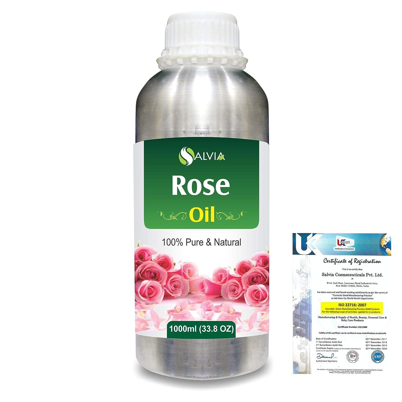口径習慣温帯Rose (Rosa Damacenia) 100% Natural Pure Essential Oil 1000ml/33.8fl.oz.